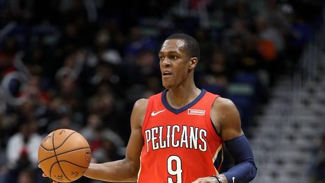 Rajon Rondo stellte im Trikot der New Orleans Pelicans mit 25 Assists einen neuen Franchise-Rekord auf