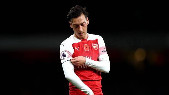 Mesut Özil könnte den FC Arsenal im Winter verlassen