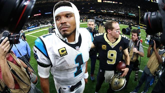 Cam Newton wurde von den Carolina Panthers womöglich regelwidrig aufs Feld geschickt
