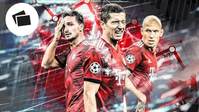 Der FC Bayern hadert derzeit mit seinen Leistungen