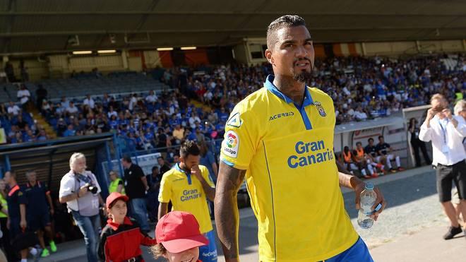 Kevin-Prince Boateng kehrte mit UD Las Palmas in die Erfolgsspur zurück