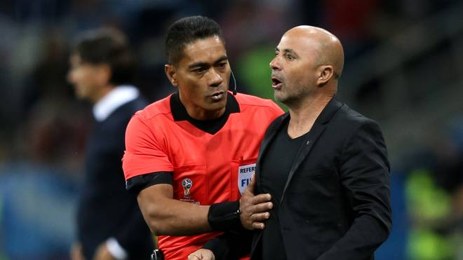 Glücklos: Argentinien-Coach Jorge Sampaoli