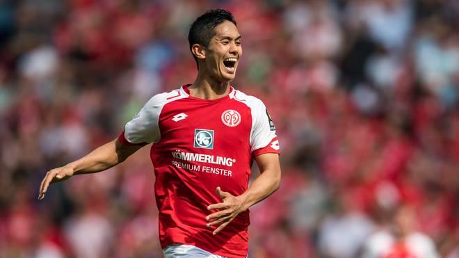 Yoshinori Muto geht künftig in der Premier League auf Torejagd