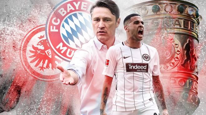 Omar Mascarell trifft mit Eintracht Frankfurt und Trainer Niko Kovac im Pokalfinale auf den FC Bayern