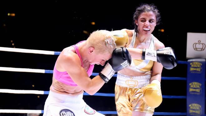 Susi Kentikian (r.) setzte sich gegen Nevenka Mikulic durch