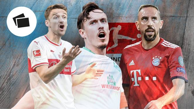 Christian Gentner, Max Kruse und Franck Ribery (v.l.) sind im Sommer ablösefrei zu haben