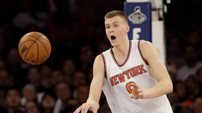 Kristaps Porzingis New York Knicks NBA Dirk Nowitzki