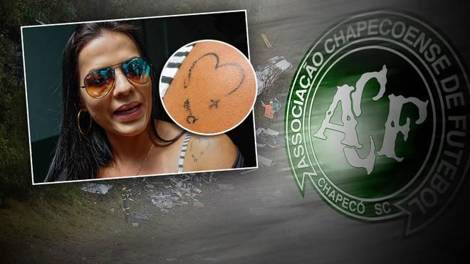 Rosangela Loureiro ist die Witwe von des verunglückten Profis Cleber Santana
