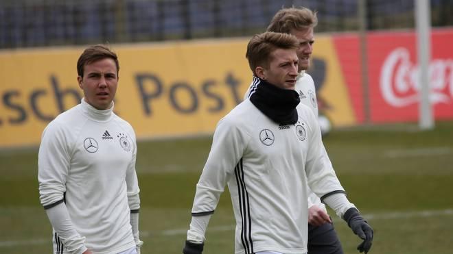 Mario Götze und Marco Reus werden von Jogi Löw nicht nominiert