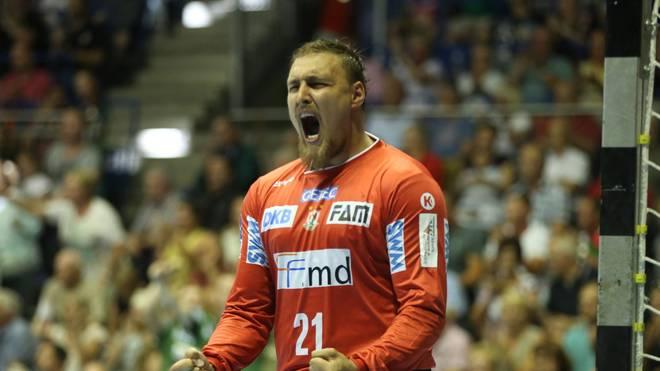 Dario Quenstedt spielt seit 2013 für den SC Magdeburg