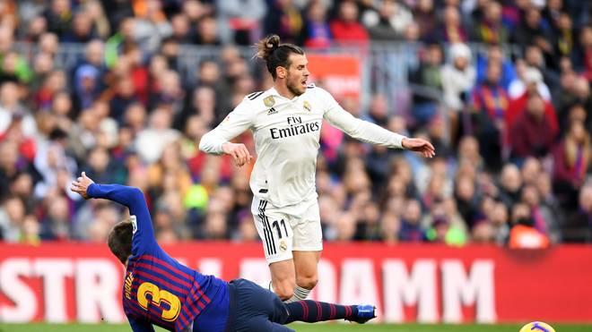 Gareth Bale steht bei Real Madrid gegen den FC Barcelona in der Startelf