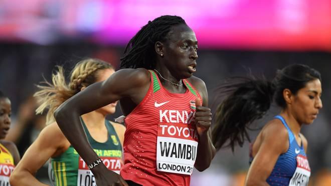 Wambui bangt um ihre Karriere