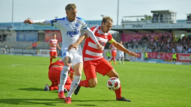 VfL Sportfreunde Lotte v FSV Zwickau - 3. Liga