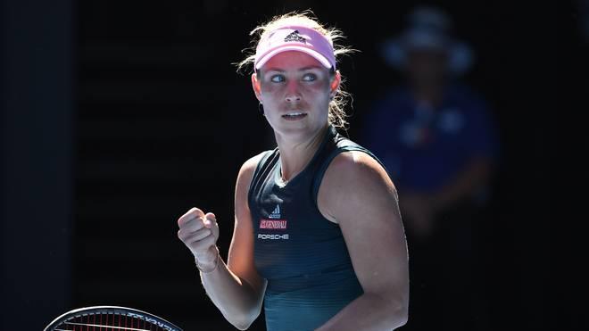 Australian Open: Angelique Kerber besiegt Haddad Maia in Runde zwei, Angelique Kerber steht bei den Australian Open in der dritten Runde