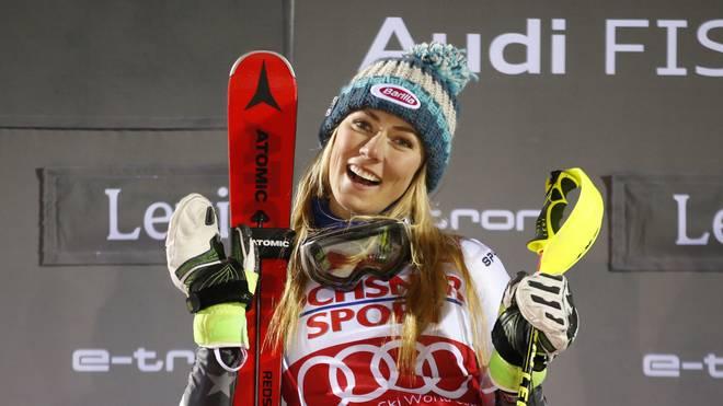 Mikaela Shiffrin hat bisher 43 Weltcupsiege eingefahren