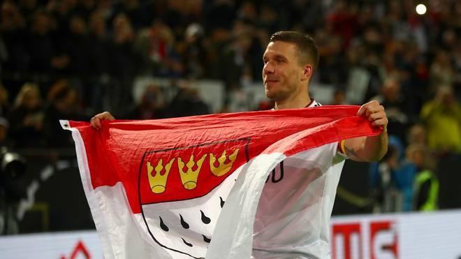 Lukas Podolskis Herz hängt immer noch am 1. FC Köln