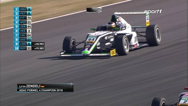 Formel 4: Lirim Zendeli wird Meister, Niklas Krütten mit Laufsieg