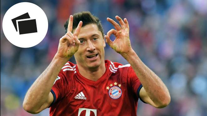 Robert Lewandowski erzielte gegen Dortmund seine Bundesligatreffer Nummer 200 und 201