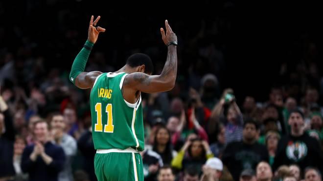 Kyrie Irving erzielte 22 Punkte für die Boston Celtics gegen die Memphis Grizzlies