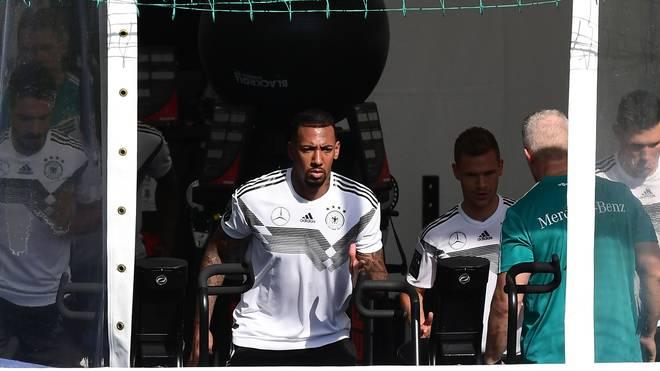 Jerome Boateng ist noch nicht im DFB-Mannschaftstraining