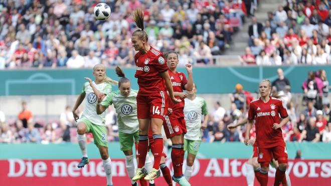 DFB-Pokal der Frauen, Auslosung: VfL Wolfsburg im Halbfinale gegen FC Bayern, 2018 standen sich der FC Bayern und der VfL Wolfsburg im Pokalfinale gegenüber