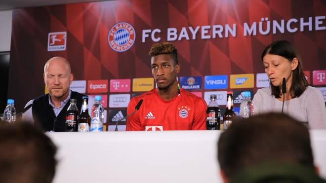Bundesliga Fc Bayern Munchen Prasentiert Kingsley Coman