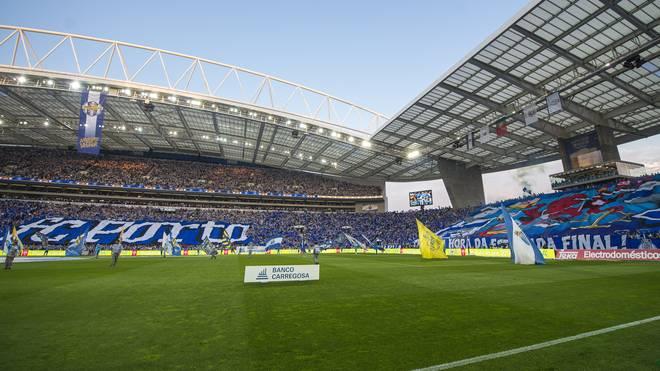 Im Estadio do Dragao von Porto wird beim Finalturnier gespielt