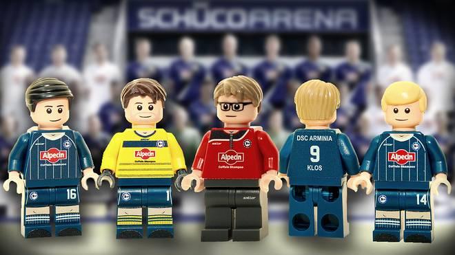 Mannschaft Von Arminia Bielefeld Als Lego Figuren Erhältlich