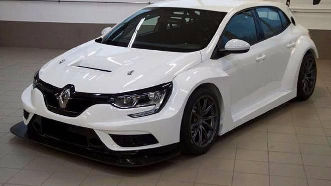 Der Renault Megane TCR wird 2018 in der TCR Germany fahren