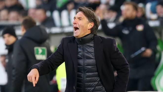 Bruno Labbadia hat mit dem VfL Wolfsburg noch viel Luft nach oben