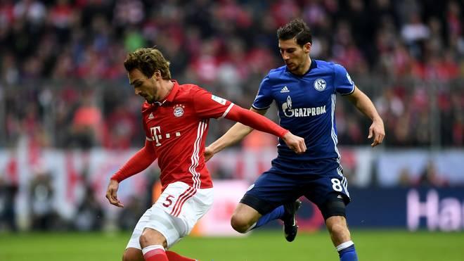 Leon Goretzka steht beim FC Schalke in der Startelf