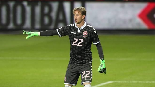 Frederik Rönnow absolvierte bisher sechs Spiele für die dänische Nationalmannschaft