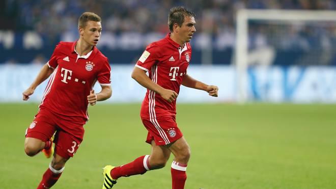 Joshua Kimmich tritt beim FC Bayern die Nachfolge von Philipp Lahm an