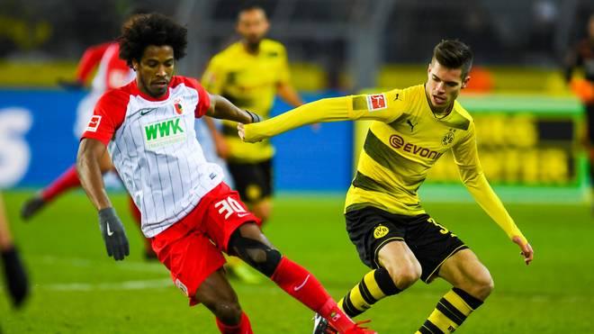 Borussia Dortmund und der FC Augsburg spielten an einem Montag