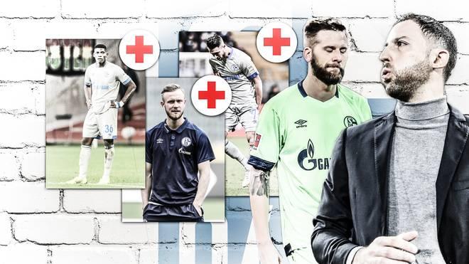 Der Schalker Angriff stellt sich im Revierderby gegen den BVB mehr oder weniger von allein auf