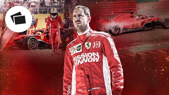 Formel 1: Sebastian Vettel und Ferrari haben sich in der Saison 2018 zu viele Patzer erlaubt