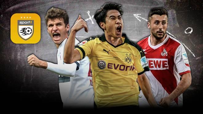 Bundesliga Manager von SPORT1 am 12. Spieltag