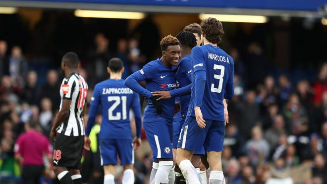 Chelsea v Newcastle United - The Emirates FA Cup Fourth Round