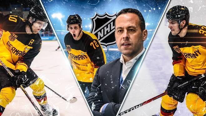 Dominik Kahun und Marco Sturm (M.) winkt eine NHL-Chance