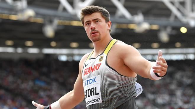 David Storl kämpft um eine Medaille