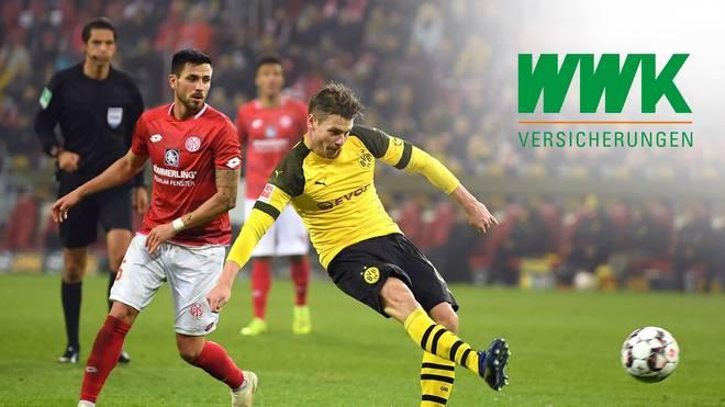 Lukasz Piszczek erzielte im Hinspiel den Siegtreffer für den BVB gegen Mainz