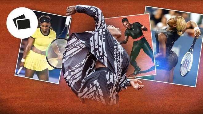 Die Outfits von Serena Williams
