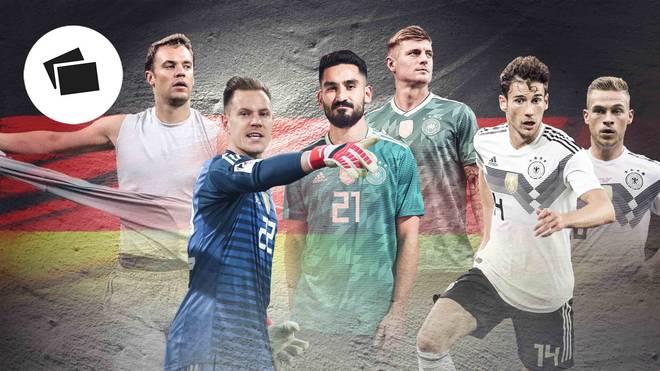In der neuen Nationalmannschaft gibt es einige heiße Duelle