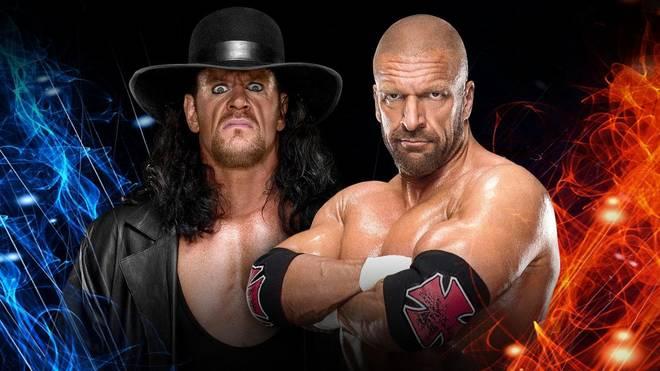 Der Undertaker trifft beim WWE Super Show-Down auf Triple H