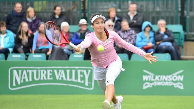 Tatjana Maria bei den Nature Valley Open - Day Five