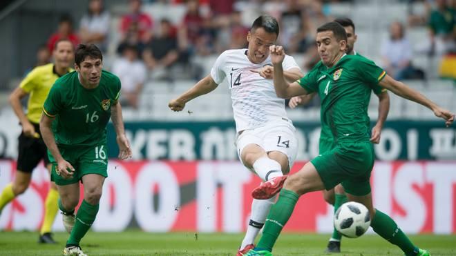 Südkorea und Bolivien trennten sich in einem Testspiel mit 0:0