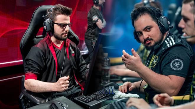 Vitality trifft im Spiel um Platz drei auf Misfits Gaming  - Die Spieler von links nach rechts - Maxlore (Misfits) und Jiiuzuke (Vitality)
