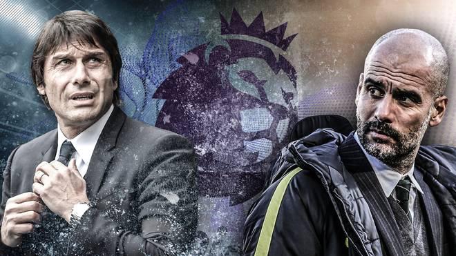 Antonio Conte (l.) und Pep Guardiola können sich extrem teure Spieler leisten