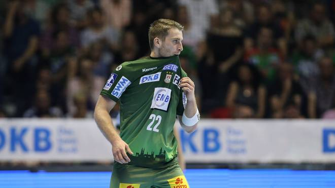 Lukas Mertens verletzt sich gegen die Rhein-Neckar Löwen schwer am Knie