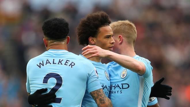 Leroy Sane erzielte die Führung für Manchester